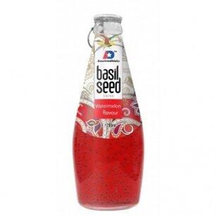 AMERICAN DRINKS arbūzų sk. gėrimas su baziliko sėklomis 290ml