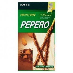 Biskvitinės lazdelės PEPERO Almond 32g