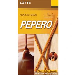 Biskvitinės lazdelės PEPERO Nude 50g