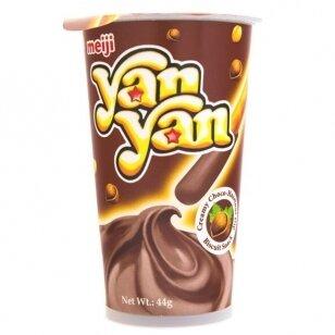 Biskvitinis užkandis YAN YAN ( CHOCOLATE HAZELNUT DIP CREAM) 44g