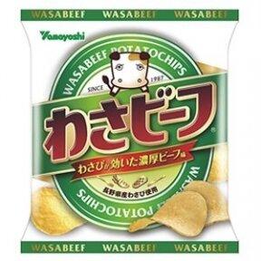 Bulvių traškučiai WASABEEF ORIGINAL 55g