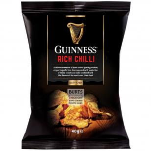 Bulvių traškučiai Guinness Chilli 150g