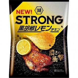Bulvių traškučiai KOIKEYA STRONG Black Peppered Chicken 56g