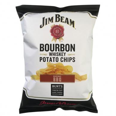 Bulvių traškučiai JIM BEAM 120g