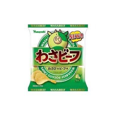 Bulvių traškučiai WASABEEF MINI  25g