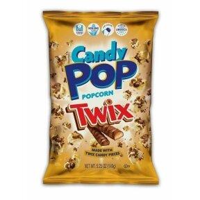Kukurūzų spragėsiai CANDY POP Popcorn Twix 149g