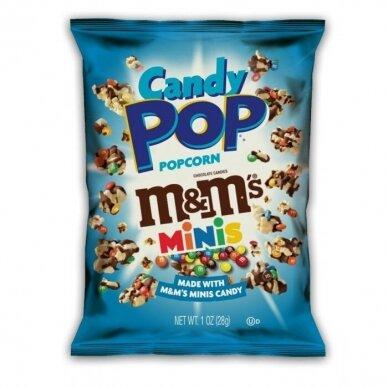 Kukurūzų spragėsiai CANDY POP Popcorn M&M 149g