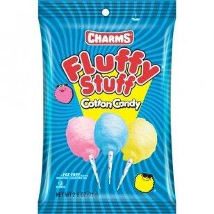 Cukraus vata CHARMS Fluffy Stuff Cotton Candy 99g