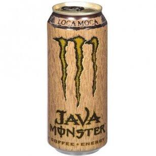 Energetinis gėrimas MONSTER Java Loca Moca 443ml