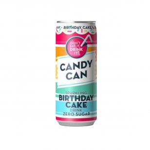 Gaivusis gėrimas CANDY CAN Birthday Cake 330ml