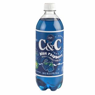 Gaivusis gėrimas C&C SODA (BLUE RASPBERRY) 710ml