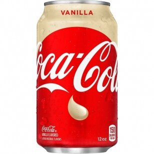 Gaivusis gėrimas COCA COLA Vanilla (vanilės sk.) 355ml
