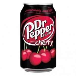 Gaivusis gėrimas DR. PEPPER Cherry 330ml