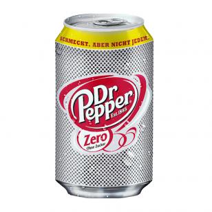 Gaivusis gėrimas Dr. Pepper Zero 330ml