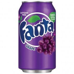 Gaivusis gėrimas FANTA Grape ( vynuogių sk.) 355ml