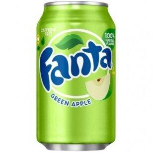 Gaivusis gėrimas Fanta Green Apple 355ml