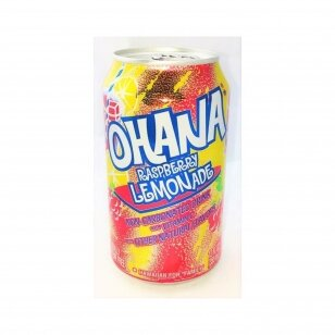 Gaivusis gėrimas FAYGO Ohana Rasberry 355 ml