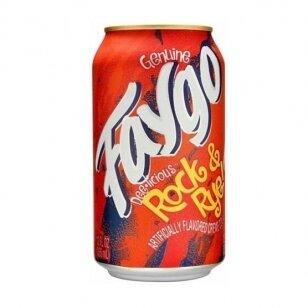 Gaivusis gėrimas FAYGO Rock & Rye ( vyšnių ir vanilės sk.) 355ml