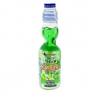 Gaivusis gėrimas KIMURA RAMUNE MELON 200ml