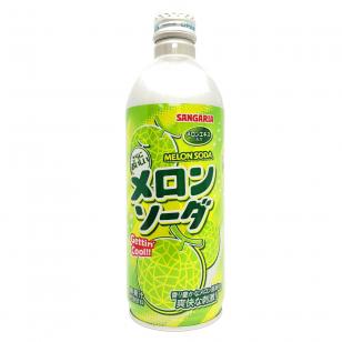 Gaivusis gėrimas RAMUNE MELON SODA 500ml ( Japonija)