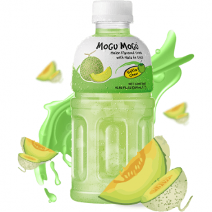 Gaivusis gėrimas MOGU MOGU Melon Nata de  320ml