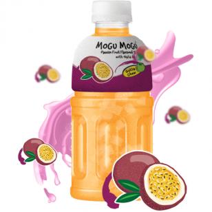 Gaivusis gėrimas MOGU MOGU PASSIONFRUIT su kokoso minkštimu 320ml