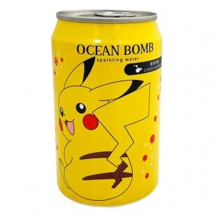 Gaivusis gėrimas OCEAN BOMB Pikachu  Japanese cider 330ml