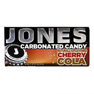 Gazuoti saldainiai JONES Soda Cherry Cola 28g