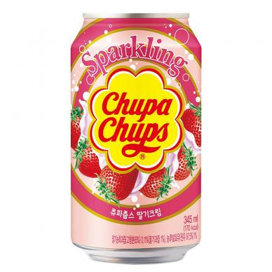 Gaivusis gėrimas CHUPA (STRAWBERRY & CREAM) 345ml