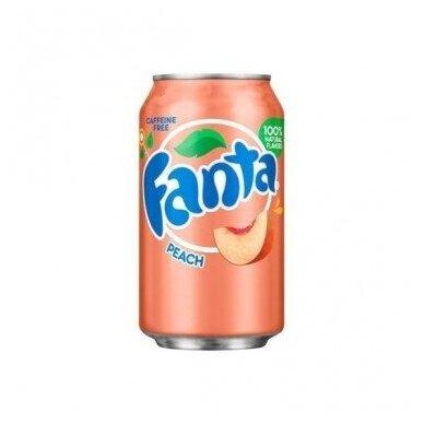 Gaivusis gėrimas FANTA Peach (persikų sk.) 355ml