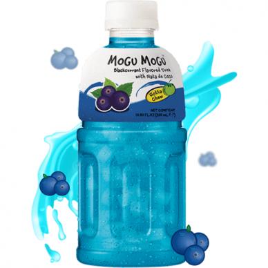 Gaivusis gėrimas MOGU MOGU Blackcurrant Nata de Coco 320ml