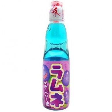 Gaivusis gėrimas RAMUNE HATAKOSEN Blueberry ( mėlynių sk.) 200ml