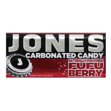 Gazuoti saldainiai JONES Soda Fufu Berry 28g