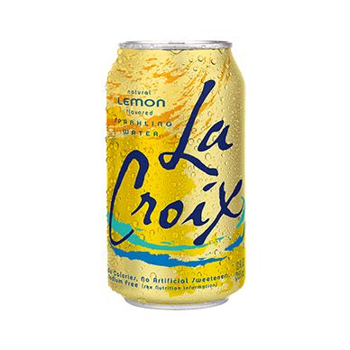 Gaivusis gėrimas La Croix Lemon Sparkling water ( citrinų skonio) 355ml