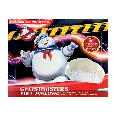 Zefyrai su baltu šokoladu Ghostbusters Puff Mallows 130g