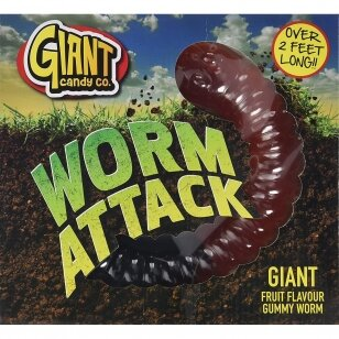 Giant Worm Attack Gummy - 800g