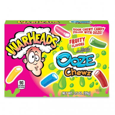 Guminukai WARHEADS Sour Ooze Chews Theater box 99g