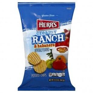 Herr's Ranch & Habanero Potato Chips 184.3g