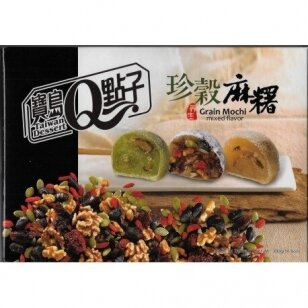 Japoniški pyragėliai MOCHI GRAIN MIXED (su riešutais) 300g
