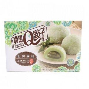 Japoniški pyragėliai MOCHI su žaliaja arbata 210g
