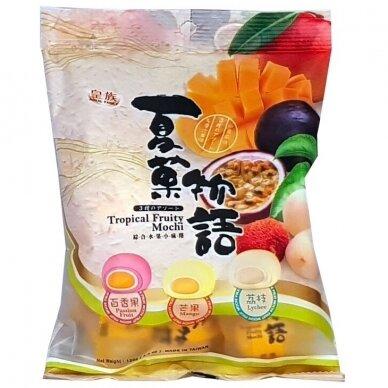 Japoniški pyragėliai MOCHI TROPICAL FRUIT 120g