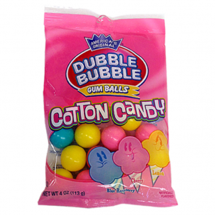 Kramtomoji guma DUBBLE BUBBLE Cotton Candy 113g