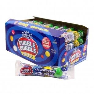 Kramtomoji guma DUBBLE BUBBLE Gum 4 balls