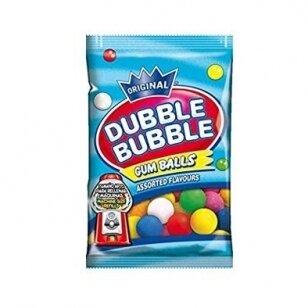 Kramtomoji guma DUBBLE BUBBLE Tutti Frutti 90g