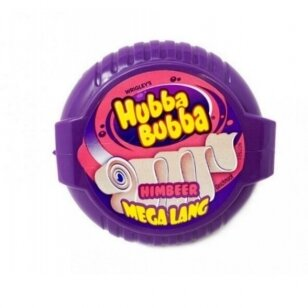 Kramtomoji guma Hubba Bubba Mega Long Himbeer 56g