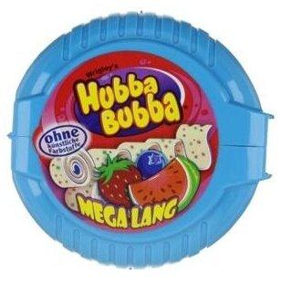 Kramtomoji guma Hubba Bubba Mega Long Triple Mix 56g