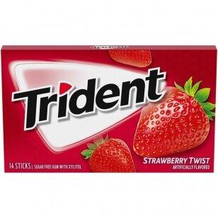 Kramtomoji guma TRIDENT Strawberry Twist