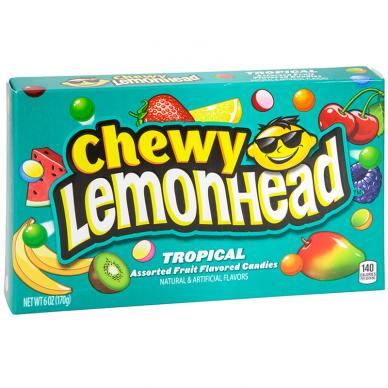 Kramtomieji saldainiai LEMONHEAD (TROPICAL) 22g