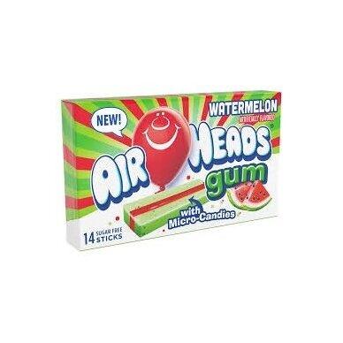 Kramtomoji guma Airheads Gum ( Arbūzinė)  33g