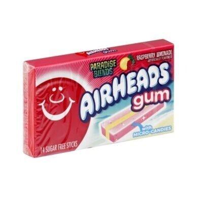 Kramtomoji guma Airheads Gum ( aviečių limonado) 33g